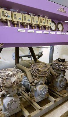 Erneuerung einer R22 Kälteanlage mit natürlichen Kältemitteln