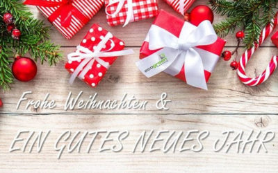 Betriebsurlaub über Weihnachten und Neujahr
