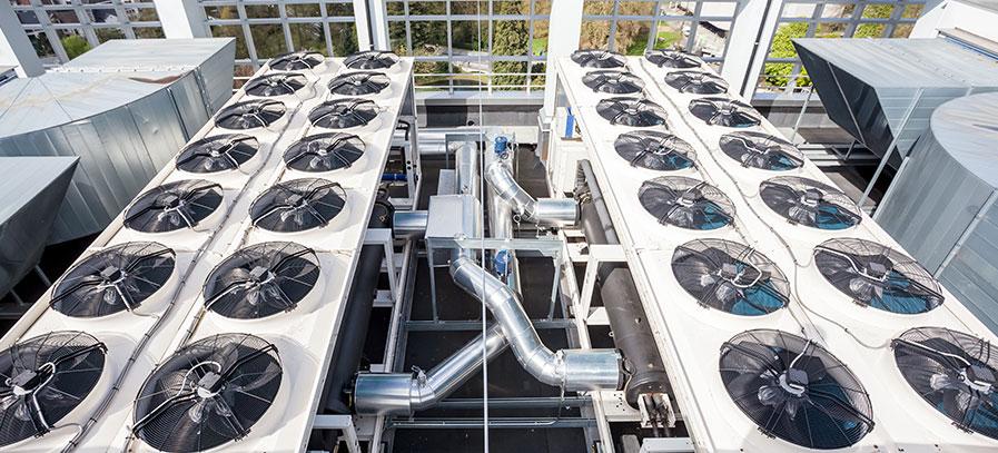 Klimatisierung Rechenzentrum Förderung