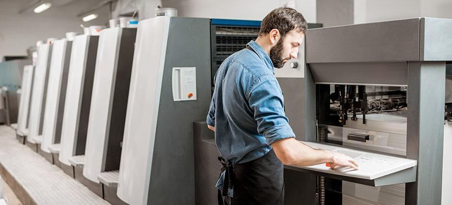 Energieeffizienz in Druckereien