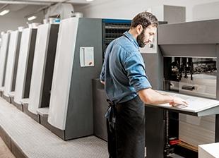 Energieeffizinez Druckerei Fördermittel