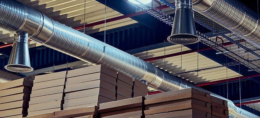 Fördermittel Papierindustrie Lüftungsanlagen