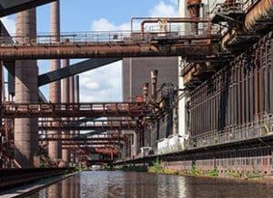 Kokerei Eisen- und Stahlindustrie Fördermittel