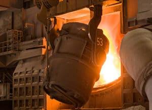 Konverter Eisen- und Stahlindustrie Fördermittel