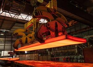 Eisen- und Stahlindustrie Fördermittel Warmwalzwerk
