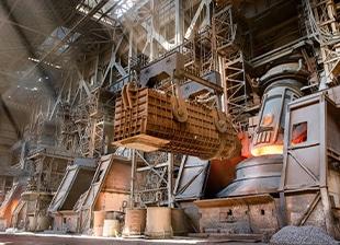Fördermittel für Eisen- und Stahlindustrie