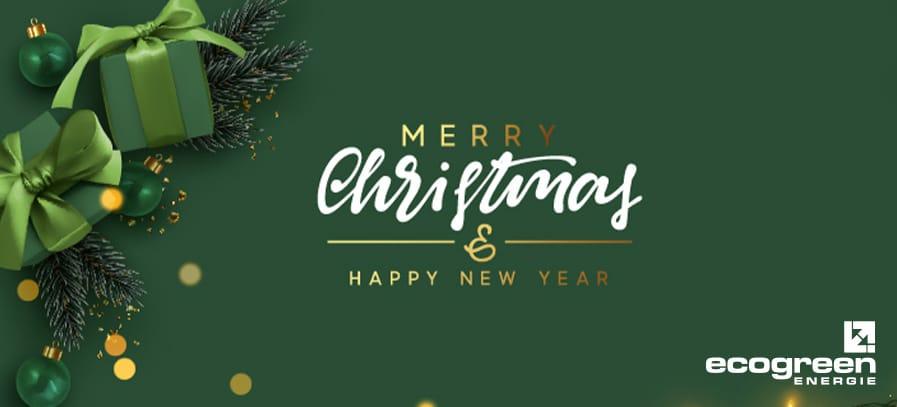 ecogreen Energie wünscht frohe Weihnachten