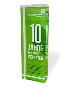 10 Jahre ecogreen Energie
