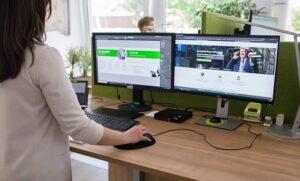 optimales Büro durch Schreibtischausstattung