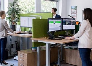 Erfolgsfaktor Büro ecogreen