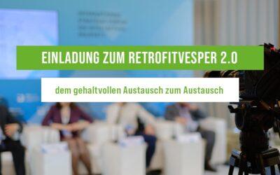 Retrofitvesper 2.0 – Einladung zum Online-Event