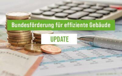 Update: Bundesförderung für effiziente Gebäude (BEG) 2021