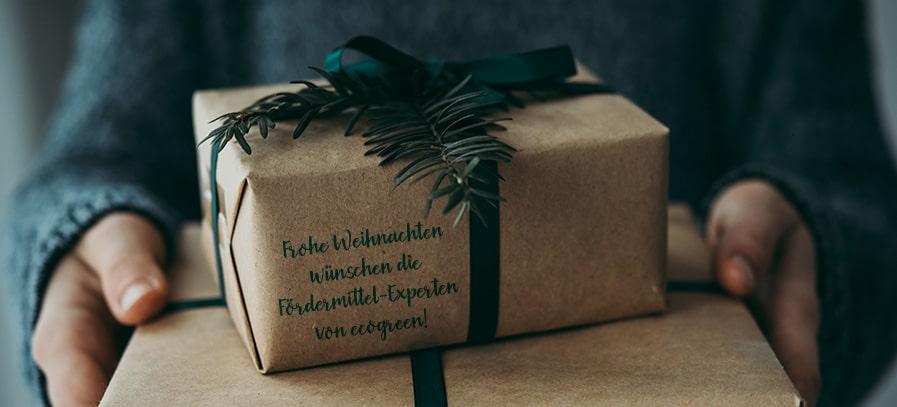 ecogreen wünscht frohe Weihnachten