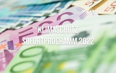 Klimaschutz-Sofortprogramm vom Kabinett beschlossen – Mehr Geld für BEG