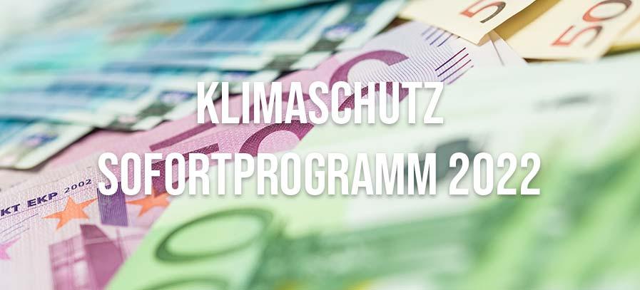 Klimaschutz-Sofortprogramm