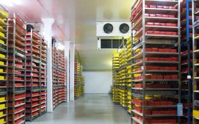 Hohes Förderpotenzial in Kühllagern und Logistikzentren
