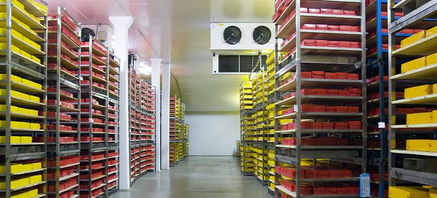 Kühllager und Logistikzentren mit Förderpotenzial